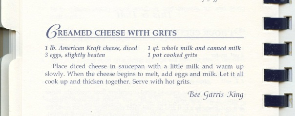 cookbook hh cheese grits