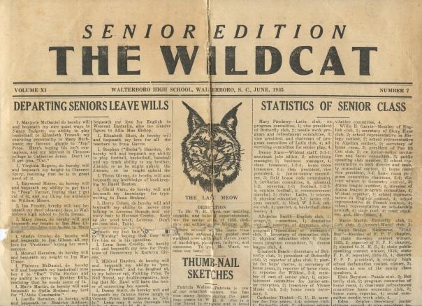 highschool grandma wildcat paper
