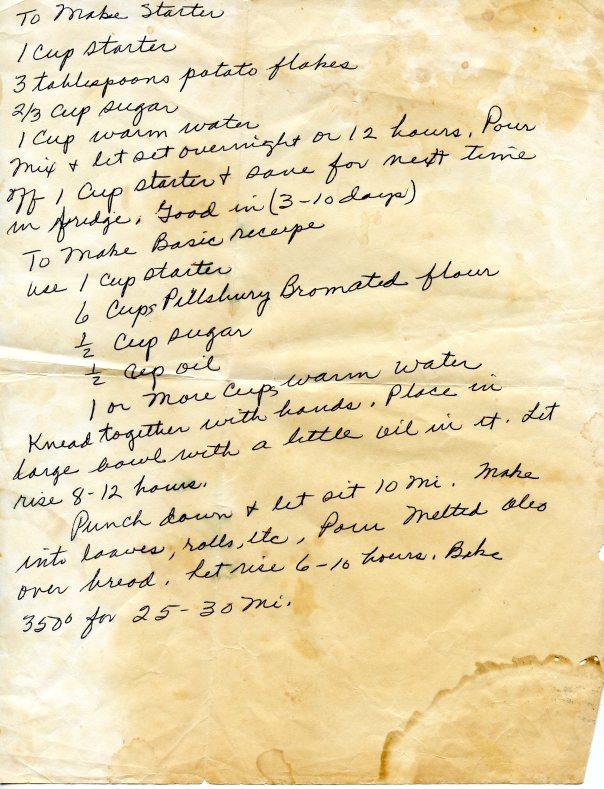recipe sourdough