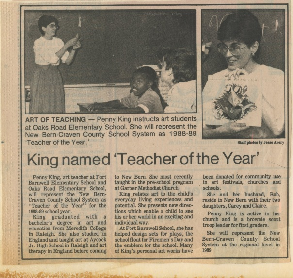 penny teacher of year