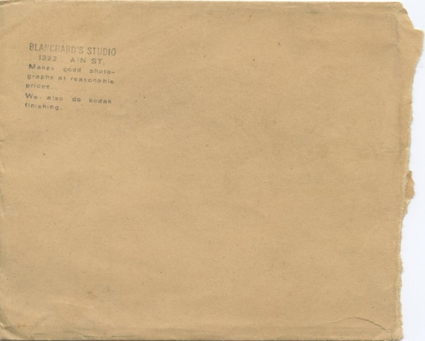 soap box derby envelope BACK