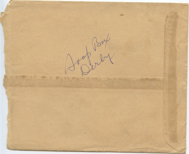 soap box derby envelope