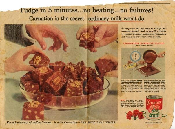 recipe fudge newspaper