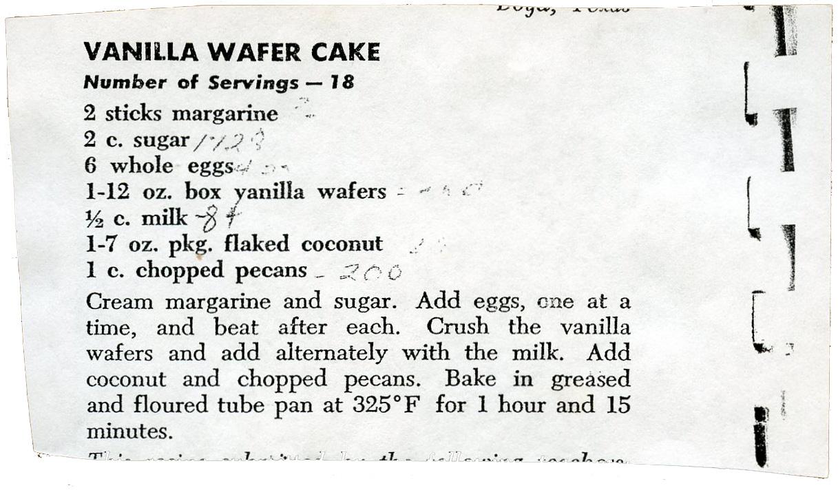 Outstanding Nabisco Vanilla Wafer Cake Recipe 1217 x 712 · 310 kB · jpeg