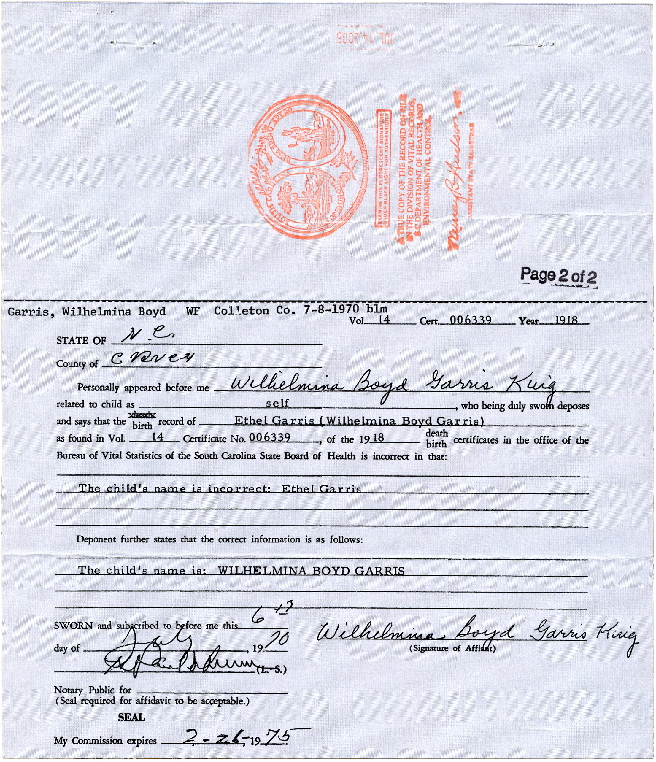 06 january 2013 king kitchen bee birth certificate page 2 aiddatafo Gallery