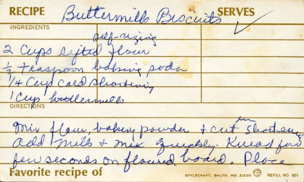 recipe buttermilk biscuits page 1