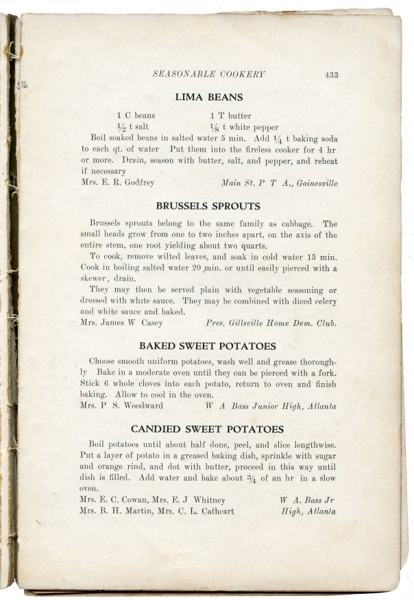 recipe lima beans pta