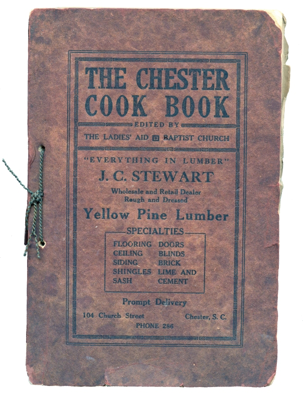 chester cookbook