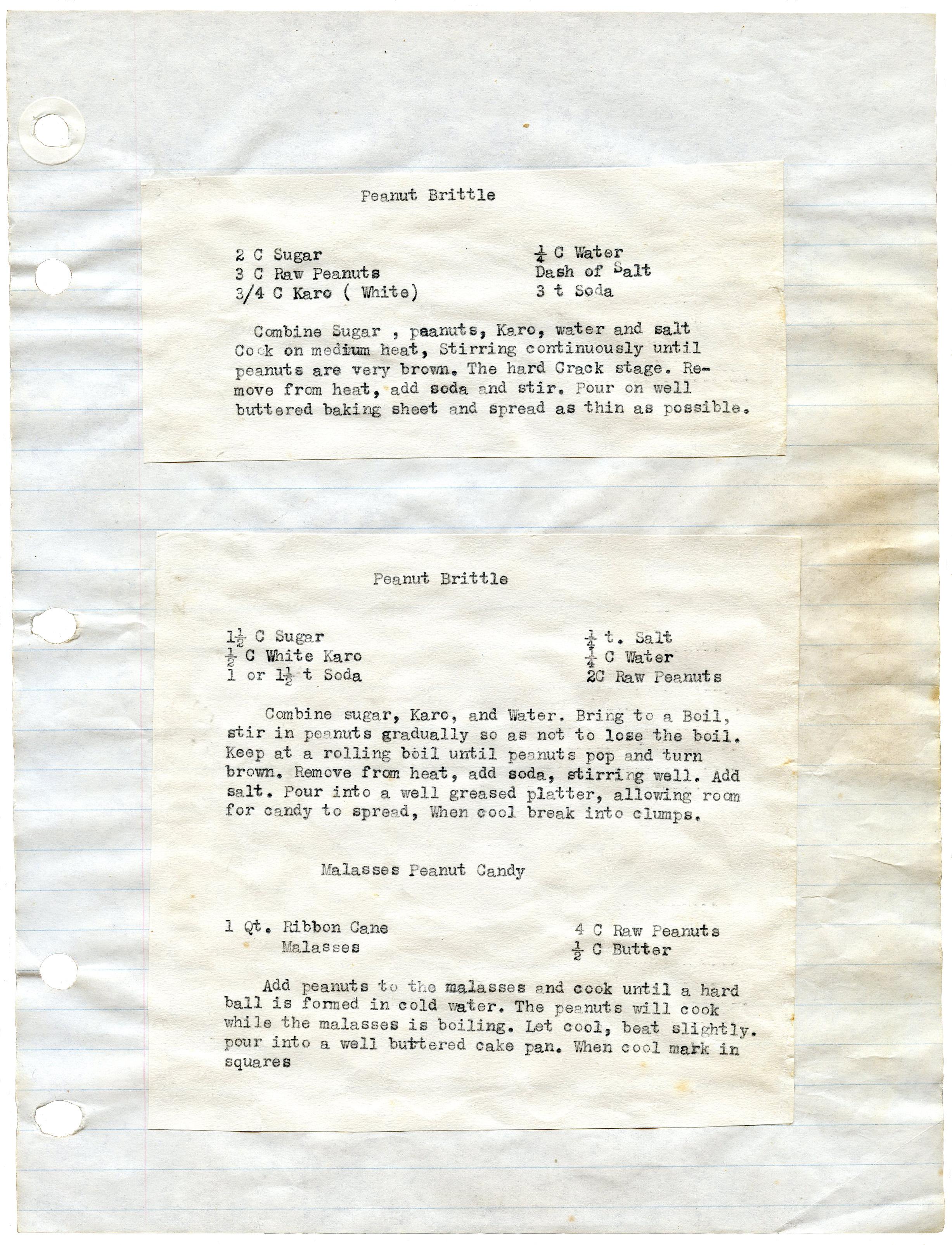 Ribbon Cane Syrup Cake Recipe