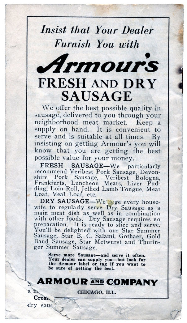 sausage booklet 9