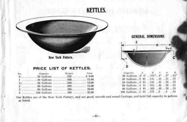 sugar cane kettle